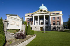 Revelstoke Courthouse Stock Photo