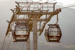 Revelstoke-Sesselbahn Stockbild