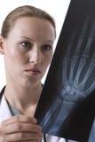 Revendo o raio X Imagens de Stock