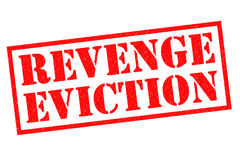 REVENGE EVICTION Stock Image