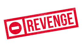 Revenge rubber stamp Royalty Free Stock Photography