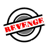 Revenge rubber stamp Royalty Free Stock Photos