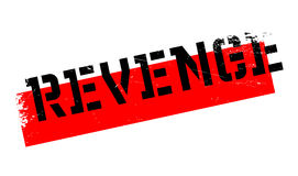 Revenge rubber stamp Stock Photography