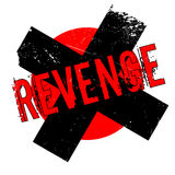 Revenge rubber stamp Royalty Free Stock Images
