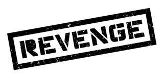 Revenge rubber stamp Stock Image