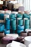 Revente des vases pour des fleurs Photos libres de droits
