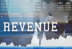 Revenue Budget Currency Economy Finance Concept Stock Image
