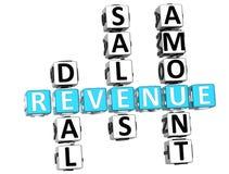Revenue Crossword Stock Photography
