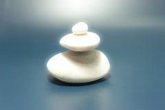 Rever blanco de la roca Imagen de archivo libre de regalías