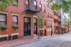 Revere Street, Boston, Massachusetts stock images