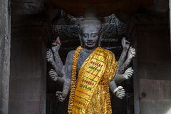 Revered Vishnu Royalty Free Stock Images