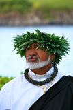 Reverend Laki Kaahumanu. Maui Wedding minister Rev. Laki Pomaikai Kaahumanu is the great, great grandson of Queen Kaahumanu. He was the Hawaiian minister in an Stock Image
