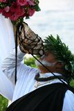Reverend Laki Kaahumanu. Maui Wedding minister Rev. Laki Pomaikai Kaahumanu is the great, great grandson of Queen Kaahumanu. He was the Hawaiian minister in an Royalty Free Stock Images