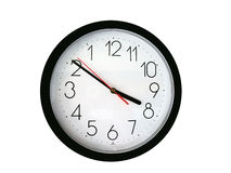 Reversal Clock Royalty Free Stock Photos