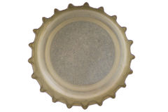 Reverse bottle cap Royalty Free Stock Photo