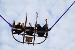 Reverse Bungee Royalty Free Stock Photography
