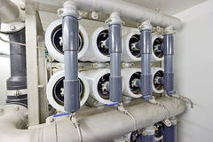 Reverse osmosis equipment Royalty Free Stock Photography