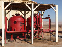 Reverse Osmosis Tanks stock images