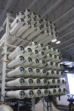 Reverse osmosis water treatment facility. A picture of a reverse osmosis water treatment facility Stock Image