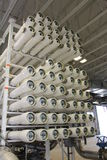 Reverse osmosis water treatment facility. A picture of a reverse osmosis water treatment facility Royalty Free Stock Photos