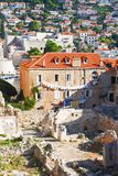 Reverse side of Dubrovnik Royalty Free Stock Photo