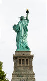 The reverse side of Liberty. Statue of Liberty in New York Royalty Free Stock Photo
