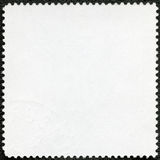 The reverse side of a postage stamp Stock Images