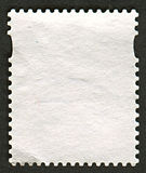 Reverse side of a postage stamp. Royalty Free Stock Image