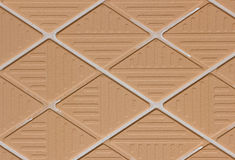 The reverse side of tile texture Royalty Free Stock Photos