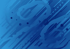 Reverse Stream Background. Blue background expressing stream reverse movement Stock Images