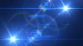 Reverseblue gemellare chiaro Fotografia Stock Libera da Diritti