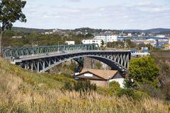 Reversing Falls Bridge Stock Image