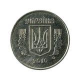 5 reverso da moeda 2010 do kopiyka do ucraniano fotos de stock
