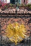 Revestimento--braços estilizados de Francoforte Foto de Stock