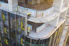 Revestimento da fachada da construção foto de stock royalty free