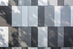 Revestimento da parede - arquitetura moderna Fotografia de Stock Royalty Free