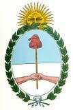 Revestimento de Argentina de braços ilustração royalty free
