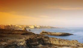 Revestimento de Biarritz foto de stock royalty free