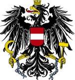 Revestimento de braços de Áustria fotografia de stock royalty free