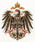 Revestimento de braços imperial do império alemão imagens de stock