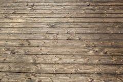 Revestimento de madeira detalhado Textured das placas na praia fragmento imagem de stock