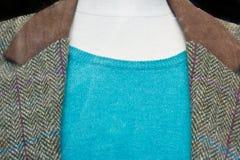 Revestimento de mistura de lã Fotografia de Stock
