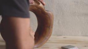 Revestimento do óleo de madeira