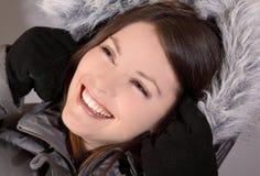 Revestimento do inverno Fotos de Stock Royalty Free