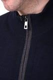 Revestimento do ` s dos homens do colar do close-up Imagem de Stock