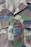 revestimento militar camuflado Fotografia de Stock Royalty Free