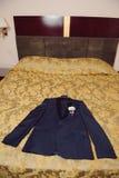 Revestimento na cama Imagens de Stock Royalty Free