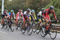 Revestimento na excursão 2013 do ciclismo de Boêmia Imagem de Stock
