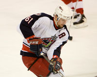 Revestimentos de Rick Nash Of The Columbus Blue Imagem de Stock