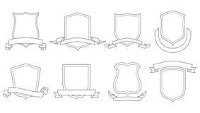 Revestimentos do vetor de braços ilustração do vetor